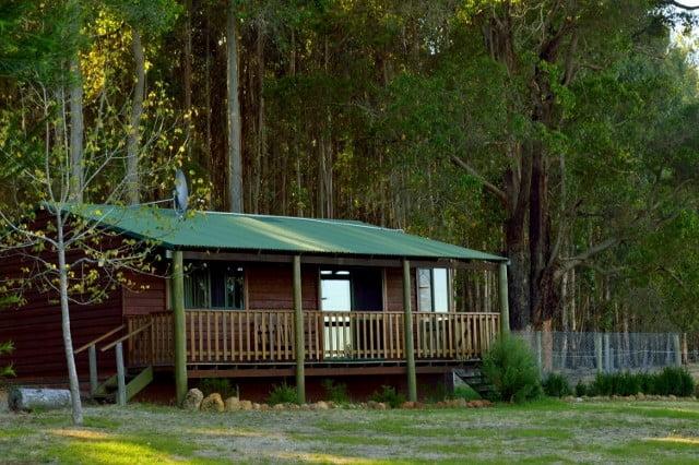 Western red cedar cottage
